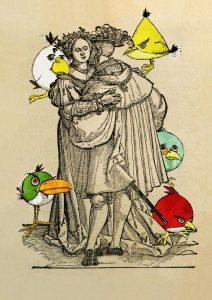 Художник Евгений Семёнов. Проект «Ода К Радости (Angry Birds прилетели)»