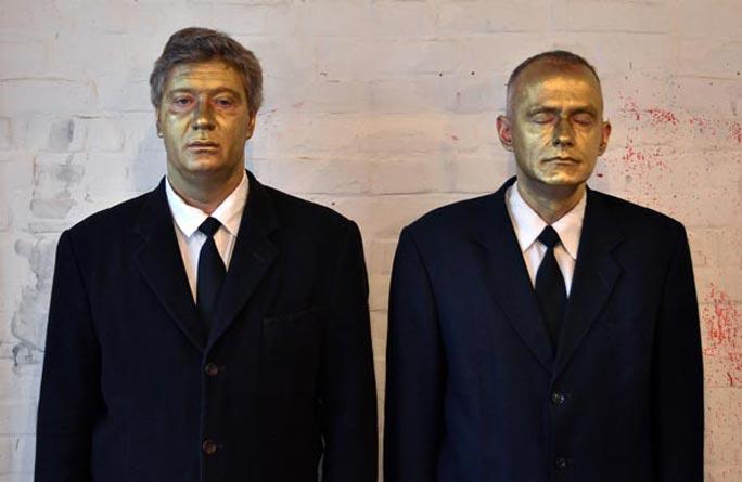 Художник Евгений Семёнов. Сон Гилберта и Джорджа «Нацконцептуализм»