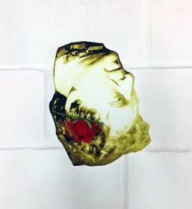 Художник Евгений Семёнов. Проект «Under Ice / Рыбак без головы»