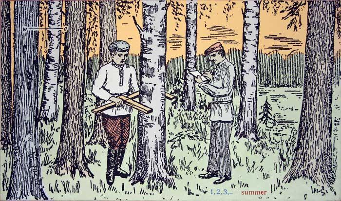 Художник Евгений Семёнов. Проект «Времена года» 1994