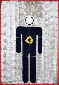 Художник Евгений Семёнов. Проект «Recycling Church»